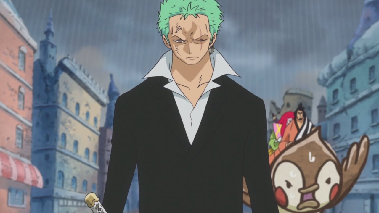 one piece zoro and sanji haki