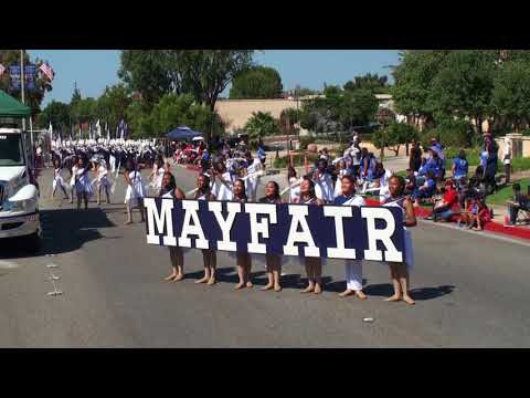 Mayfair HS - Bravura - 2017 Duarte Route 66 Parade