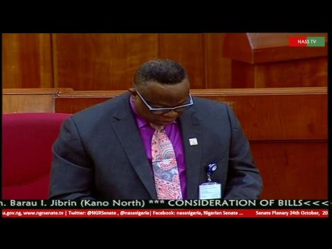 Senate Plenary,24th October, 2017