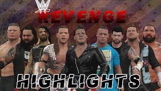 [WWE 2K16] Mode Univers: WWE Revenge Highlights [FR][HD]
