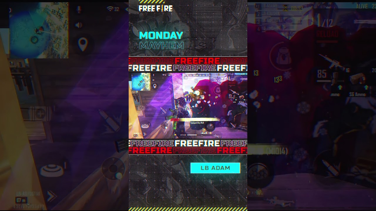 Incredible Gameplay by LB Adam | Garena Free Fire