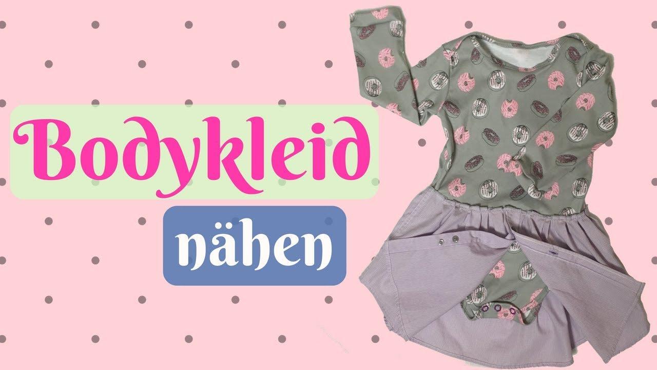 Bodykleid / Body Baby nähen - Nähanleitung für Anfänger mit ...