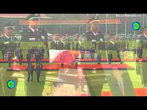 Funerales de Estado a Francisco Blake Mora en el Campo Marte