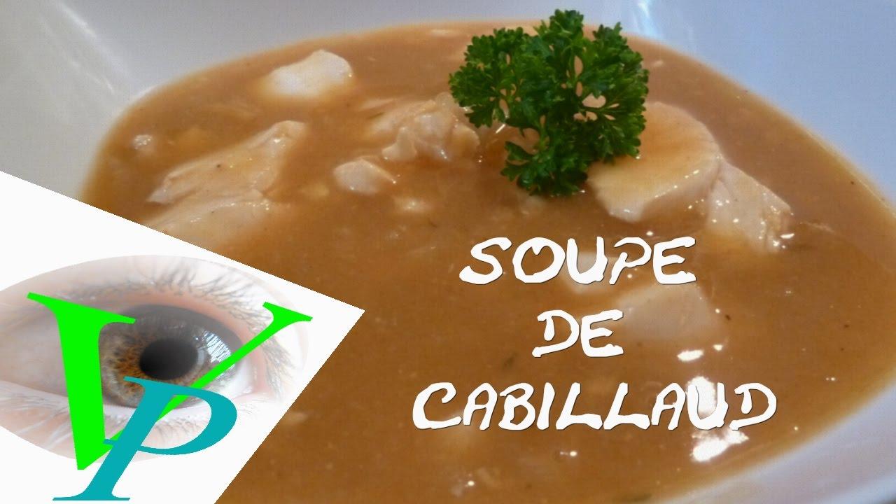 SOUPE DE CABILLAUD