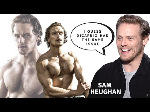 Sam Heughan On His LOOKS & BODY, Selfies,  & FAME