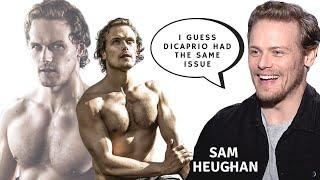Sam Heughan On His LOOKS & BODY, Selfies, FANS & FAME