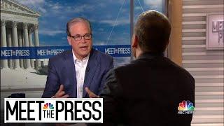 Full Braun: 'Hopefully' Trump Will Take Impeachment As 'Instructive' | Meet The Press | NBC News