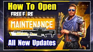 How To Open Free Fire New Updates OB27😰🔥Why Game is Not Opening?