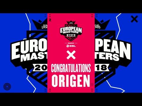[🔴] European Masters Spring Split 2018 Finals