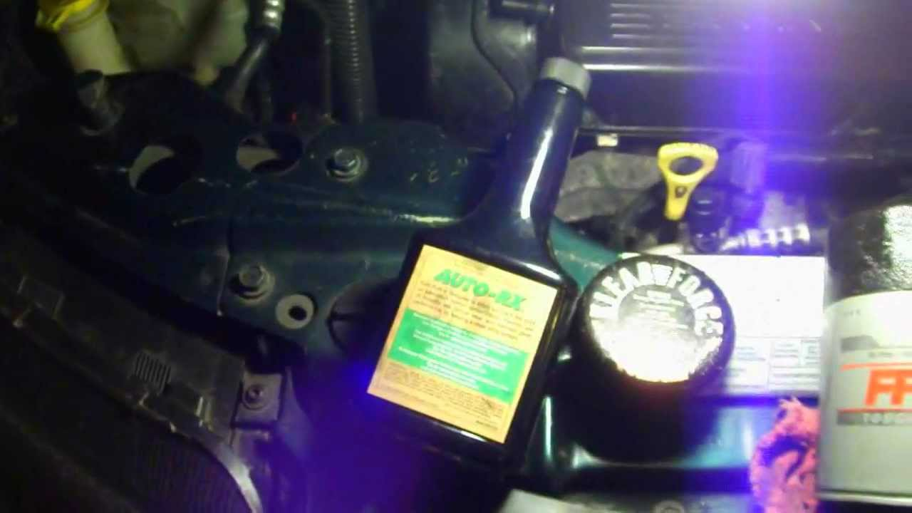 Oil Pressure Switch >> Chrysler Sebring Convertible OIL PRESSURE SWITCH '96-'00 - YouTube