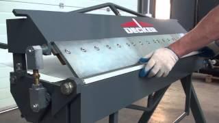 видео Ручные и механические немецкие листогибы
