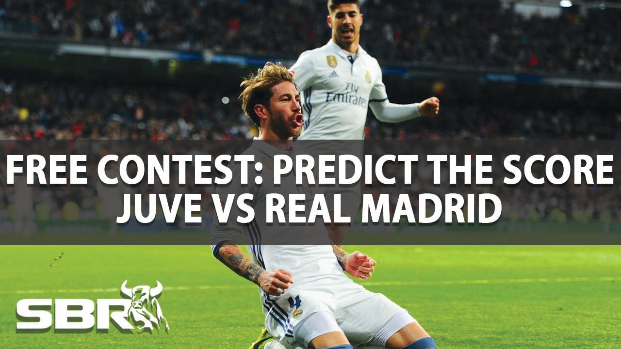 Juventus vs Real Madrid | Predict Correct Score to win £50