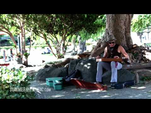 Jay Buchanan Live on the Streets of Long Beach
