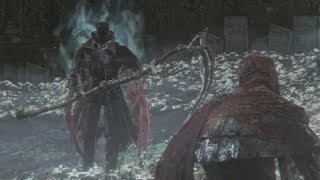 Bloodborne: Gehrman, the First Hunter Boss Fight (1080p)