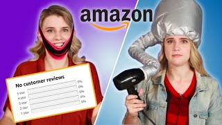 Women Try Amazon Beauty Products With No Reviews
