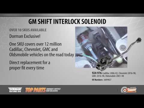 Shift Interlock Solenoid