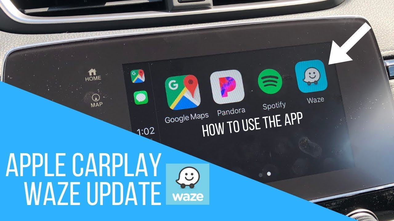 Apple Carplay UPDATE | WAZE IOS 12