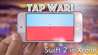 Make Tap War! (Swift 2 in Xcode)