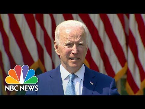 President Biden Announces New Restrictions On Guns   NBC Nightly News