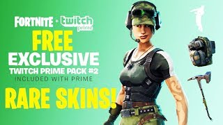 🔴GET *FREE* EXCLUSIVE TWITCH PRIME SKINS l PRO FORTNITE PLAYER l 1200+ Wins PC