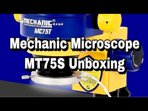 Mechanic Microscope MT75S Unboxing | Best Price Available in Bangalore | Available Repair Tools