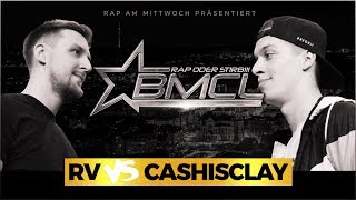 BMCL RAP BATTLE: RV VS CASHISCLAY (BATTLEMANIA CHAMPIONSLEAGUE)
