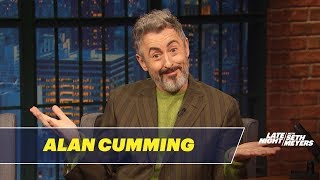Alan Cumming Shares a Grim Fact About Cruise Ships