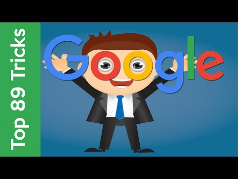 Top 89 Google Tricks