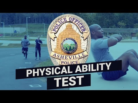 Pre-Hire Physical Agility Test – Asheville Police Department