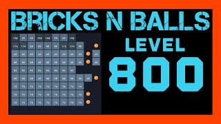 Bricks N Balls Level 800                No Power-Ups screenshot 1