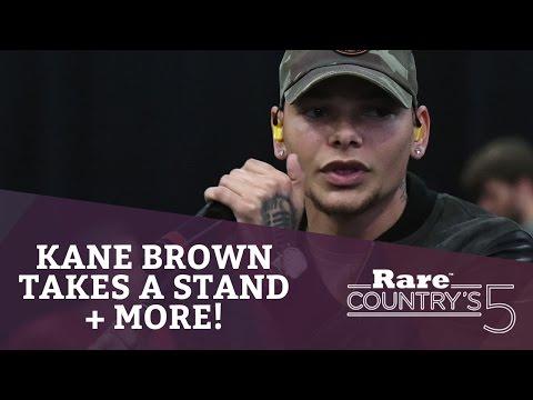 Kane Brown Takes a Stand + More   Rare...