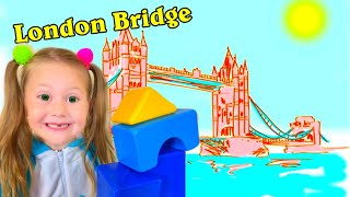 London Bridge Song | Eva Surprise for Kids
