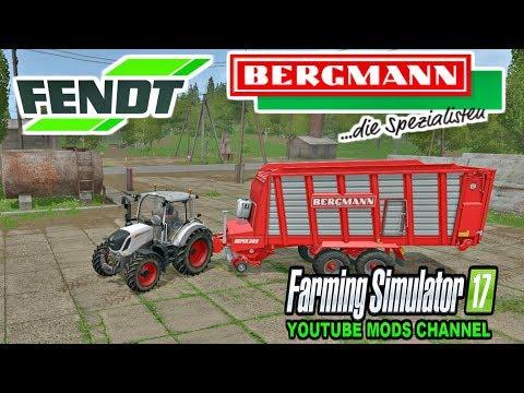 FS | 17 | Mods FENDT 300 VARIO – DH  And BERGMANN REPEX 34S Ladewagen