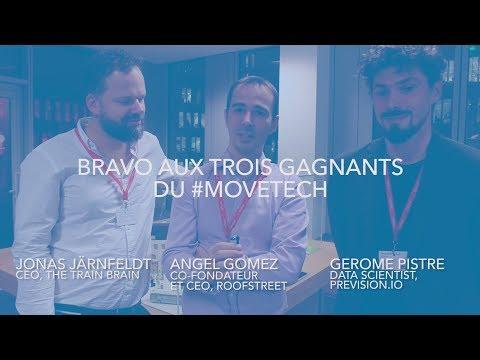 Challenge MoveTech - Les 3 startups victorieuses