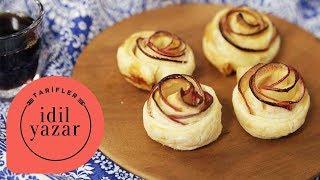 Elmalı Gül Tatlısı (SADECE 2 MALZEME) - İdil Yazar - Yemek Tarifleri