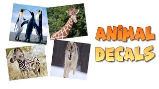 Roblox Bloxburg-animal Decal ID ' s