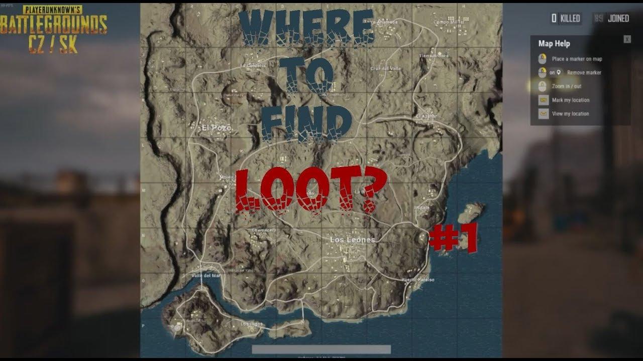 Playerunknown's Battlegrounds: Great loot in Miramar #1 (PUBG CZ/SK)