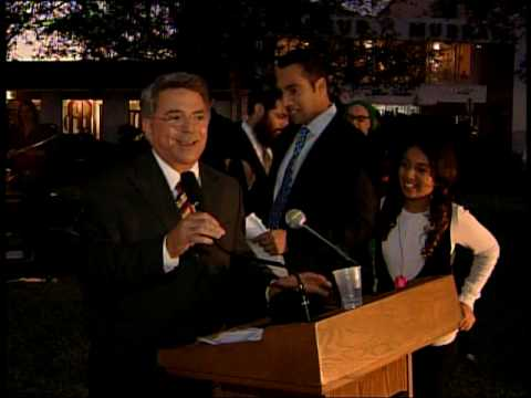 Annual City of Coral Gables Menorah Lighting Ceremony hosted by Aronfeld Trial Lawyers.