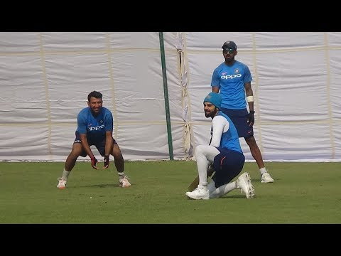 Watch: What did Virat do during practice at Kotla? | Indian Cricket Team