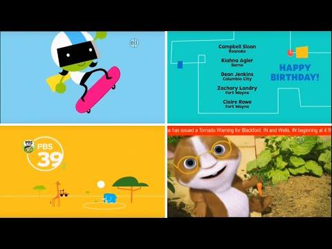 PBS Kids Program Break \u0026 EAS (2016 WFWA-DT2)