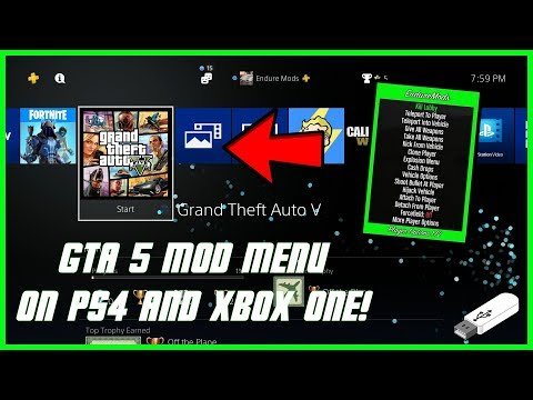 Download How To Install Gta 5 Online Usb Mod Menus On All Consoles