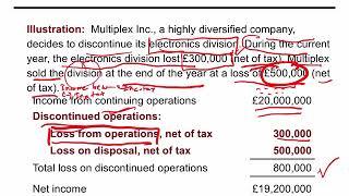 Akuntansi Keuangan Menengah 1 - Income Statement 4. Discontinued Operation