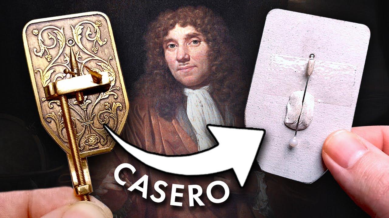 Cómo hacer un Microscopio 100% Casero y Efectivo ✅ Haz el microscopio óptico simple Leeuwenhoek