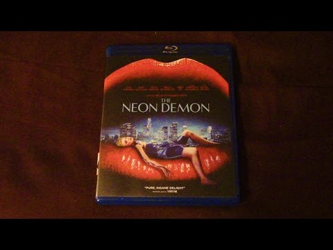 The Neon Demon Blu-Ray Review/Unboxing (HD)