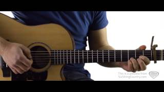 My Kinda Party - Guitar Lesson and Tutorial - Jason Aldean
