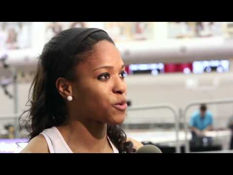 Highlights of Rochelle Farquharson and Erica Bougard at SEC Indoor