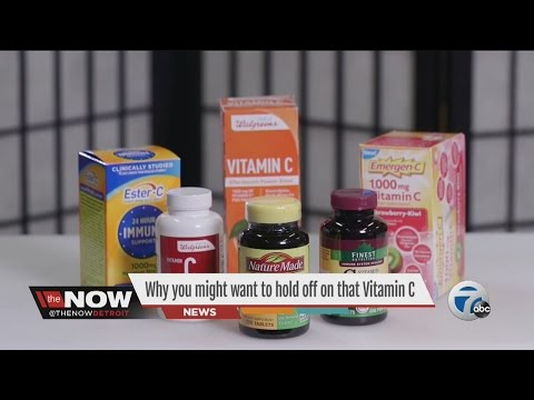 Too much Vitamin C could cause health problems
