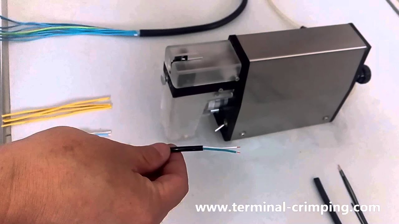 stripping copper wire insulation remover for scrap as Schleuniger ...