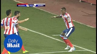 Atletico de Kolkata 3-0 Mumbai City match highlights - Daily Mail