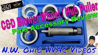 C & D Hub Puller and Accessory Review